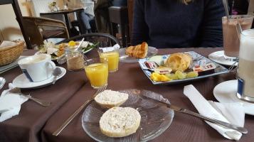 Leckeres Frühstück im Café Viva!